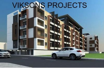 Gallery Cover Image of 750 Sq.ft 2 BHK Apartment for buy in Vikram Viksons Projects, Nai Basti Dundahera for 2205000