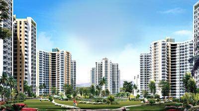 Gallery Cover Image of 1335 Sq.ft 3 BHK Apartment for rent in Sam Palm Olympia, Noida Extension for 10500