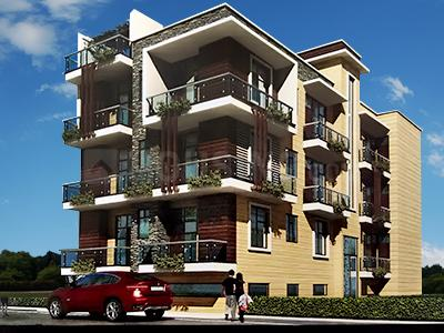 Gallery Cover Image of 2000 Sq.ft 4 BHK Apartment for rent in Builders NK 2, Niti Khand for 22000