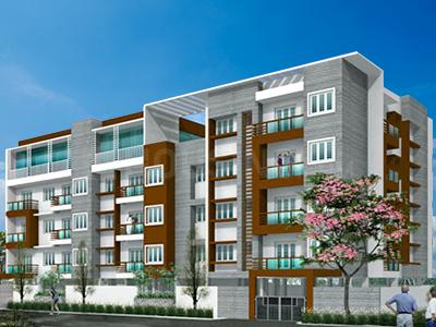 Gallery Cover Image of 1355 Sq.ft 3 BHK Apartment for rent in Fairyland Sai Sparsh, Madipakkam for 22000