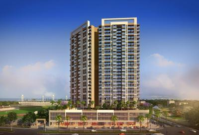 Gallery Cover Image of 700 Sq.ft 1 BHK Apartment for rent in Bhairaav Gold Crest Residency, Ghansoli for 18000