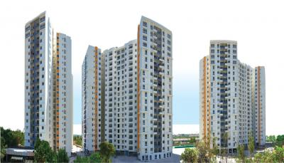 Gallery Cover Image of 1352 Sq.ft 3 BHK Apartment for rent in Olympia Opaline Sequel by Olympia Group, Semmancheri for 20000
