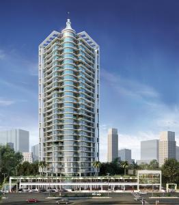 Gallery Cover Image of 750 Sq.ft 1 BHK Apartment for rent in Koperkhairane Infinity Tower, Kopar Khairane for 10000