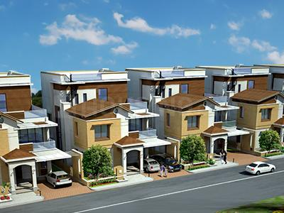 Gallery Cover Image of 1300 Sq.ft 3 BHK Independent House for buy in Shreenath Residency, Bhicholi Mardana for 7500000