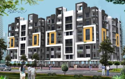 Gallery Cover Image of 603 Sq.ft 1 BHK Apartment for buy in Shri Krishna Shrikrishna Devcon Gulmarg Valley, Sanvid Nagar for 750000