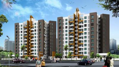 Gallery Cover Image of 645 Sq.ft 2 BHK Apartment for buy in BU Bhandari Alacrity, Baner for 8000000