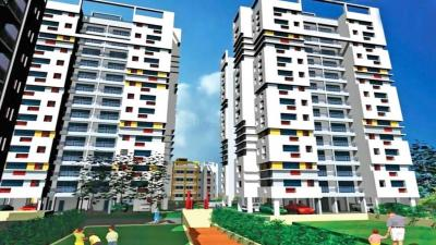 Gallery Cover Image of 1157 Sq.ft 2 BHK Apartment for rent in Fort Group Sunny Fort, New Town for 15000