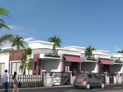 Gallery Cover Image of 700 Sq.ft 2 BHK Independent House for buy in Sigma Kanha River View, Saliwada for 1900000