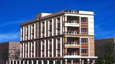 Gallery Cover Image of 1050 Sq.ft 1 BHK Apartment for rent in Biswas Jeet Sanctuary A, Nayabad for 12000