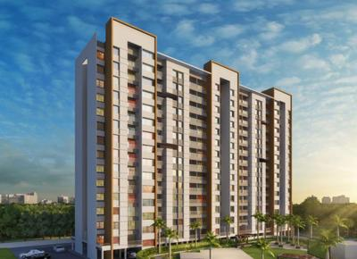 Gallery Cover Image of 971 Sq.ft 2 BHK Apartment for buy in Majestique Mrugavarsha Phase I, Dhayari for 5333288
