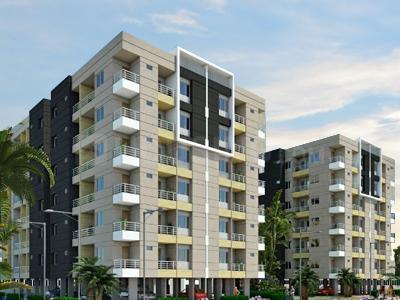 Gallery Cover Image of 1161 Sq.ft 2 BHK Apartment for buy in Abhi Svarna Residency, Lasudia Mori for 2551000