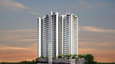 Gallery Cover Image of 650 Sq.ft 1 BHK Apartment for buy in Kabra Aurum Wing A B C AND D of Unnat Nagar II, Goregaon West for 14000000