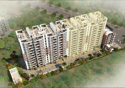 Gallery Cover Image of 700 Sq.ft 1 RK Apartment for buy in Nisarg Unicorn Nisarg Belrose B Building, Wakad for 4200000