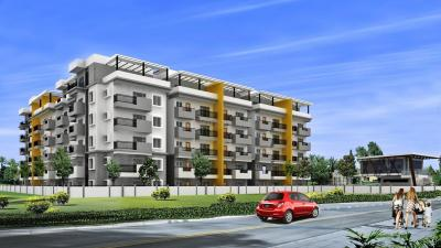 Gallery Cover Image of 1095 Sq.ft 2 BHK Apartment for buy in  Narayana E Golden Abode, Electronic City for 4380000