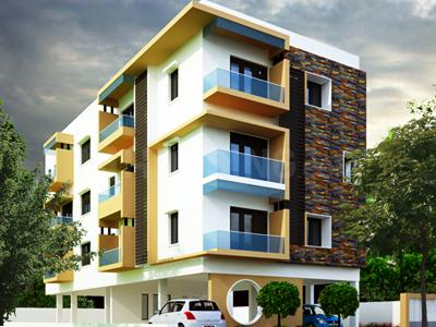 Gallery Cover Image of 480 Sq.ft 1 BHK Independent Floor for buy in AN Nungambakkam, Nungambakkam for 2900000