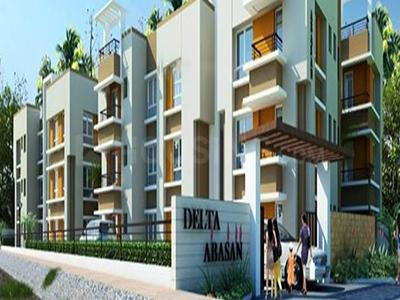 Gallery Cover Image of 1500 Sq.ft 3 BHK Apartment for buy in Delta Abasan, Birati for 4800000