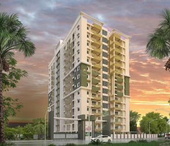 Gallery Cover Image of 1083 Sq.ft 2 BHK Apartment for buy in Sowparnika West Holmes, Kudappanakunnu for 4200000