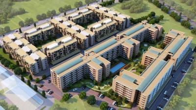 Gallery Cover Image of 950 Sq.ft 2 BHK Apartment for rent in Vedic Smart Homes, Vedic Village for 10000