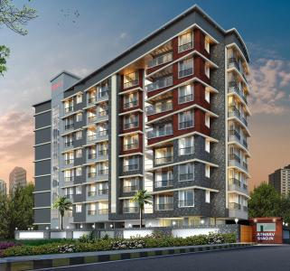 Gallery Cover Image of 1287 Sq.ft 3 BHK Apartment for buy in Atharv Shagun, Vile Parle West for 41400000