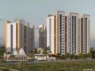 Gallery Cover Image of 830 Sq.ft 2 BHK Apartment for buy in Majestique Mrugavarsha, Dhayari for 4589000