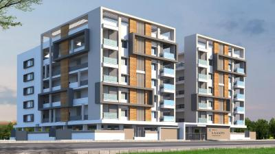 Gallery Cover Image of 1205 Sq.ft 2 BHK Apartment for buy in Saanvi Silver Springs, Narsingi for 6680005