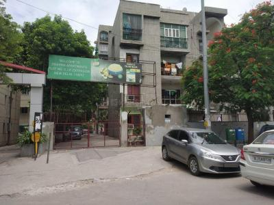 Gallery Cover Image of 750 Sq.ft 1 BHK Apartment for rent in Dharma Apartments, Patparganj for 14000