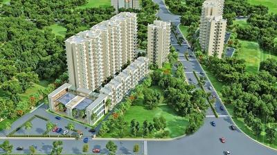 Gallery Cover Image of 420 Sq.ft 1 BHK Apartment for rent in Signature Global Solera, Sector 107 for 7000
