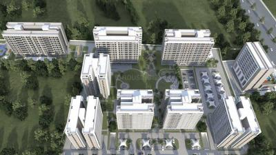 Gallery Cover Image of 2850 Sq.ft 3 BHK Apartment for rent in Raj Green Punya Bhoomi, Bhimrad for 28000