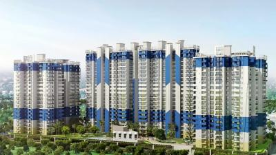 Gallery Cover Image of 1395 Sq.ft 3 BHK Apartment for buy in JKG Palm Court, Noida Extension for 5000000