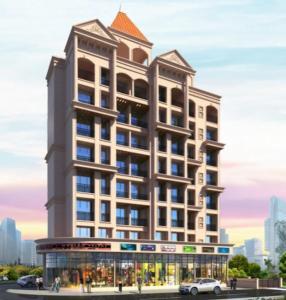 Gallery Cover Image of 660 Sq.ft 1 BHK Apartment for buy in Rudra Shreepati Solitaire, Karanjade for 4300000