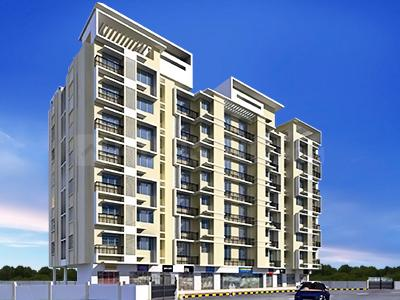 Gallery Cover Image of 620 Sq.ft 2 BHK Apartment for rent in Damji Shamji Shah Mahavir Exotica, Kasarvadavali, Thane West for 17000