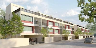Gallery Cover Image of 3200 Sq.ft 4 BHK Independent House for buy in Magarpatta Zinnia Row Houses, Hadapsar for 33000000