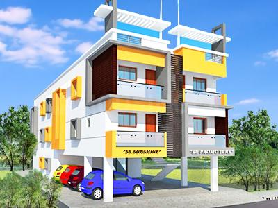 Gallery Cover Image of 900 Sq.ft 2 BHK Apartment for rent in SB SS Sunshine, Pammal for 12000