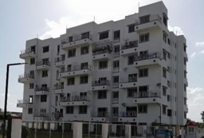 Gallery Cover Image of 637 Sq.ft 1 BHK Apartment for rent in Goyal Shree Ganesh Galaxy, Charholi Budruk for 7500