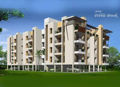 Gallery Cover Image of 550 Sq.ft 1 BHK Apartment for rent in Jain Pebble Brook, Thoraipakkam for 13000