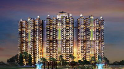 Gallery Cover Image of 1255 Sq.ft 3 BHK Apartment for rent in Ajnara Ambrosia, Sector 118 for 12000