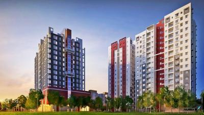 Gallery Cover Image of 1338 Sq.ft 3 BHK Apartment for rent in Purti Flowers, Maheshtala for 15000