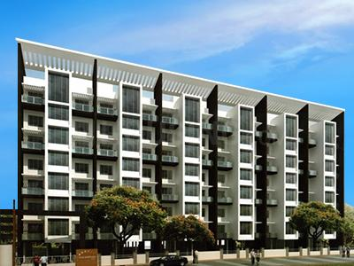 Gallery Cover Image of 700 Sq.ft 2 BHK Apartment for rent in SR Sai Sapnaa Town, Wadgaon Sheri for 12300