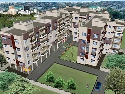Gallery Cover Image of 1625 Sq.ft 3 BHK Apartment for rent in Prakrati Eden & Elite, Shahpura for 13000