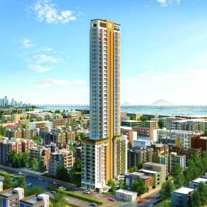 Gallery Cover Image of 1450 Sq.ft 3 BHK Apartment for buy in Jewel Crest, Mahim for 67500000