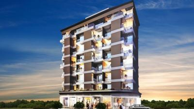 Gallery Cover Image of 675 Sq.ft 1 BHK Apartment for rent in Saphire Oriel, Karanjade for 7000