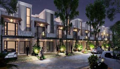 Gallery Cover Image of 3706 Sq.ft 4 BHK Villa for buy in UDB Villa Grande, Mansarovar Extension for 15565200