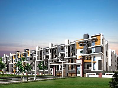 Gallery Cover Image of 1318 Sq.ft 3 BHK Apartment for buy in Mahaveer Fortune, Gollarapalya Hosahalli for 5800000