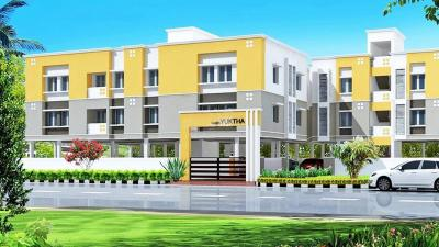 Gallery Cover Image of 800 Sq.ft 2 BHK Apartment for rent in Gajas Yuktha, Sholinganallur for 16000