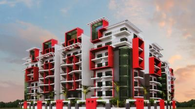 Gallery Cover Image of 1117 Sq.ft 2 BHK Apartment for rent in RV Nirmaan Silpa Hilltop, Gachibowli for 23000