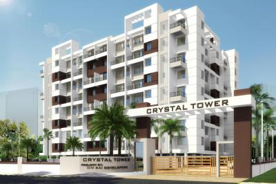 Gallery Cover Image of 590 Sq.ft 1 BHK Apartment for buy in Om Sai Crystal Tower, Loni Kalbhor for 2800000
