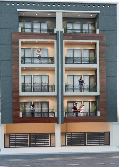 सेक्टर 8  में 2  खरीदें के लिए 8 Sq.ft 2 BHK इंडिपेंडेंट फ्लोर  के प्रोजेक्ट  की तस्वीर