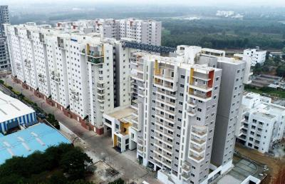 Gallery Cover Image of 1200 Sq.ft 3 BHK Independent Floor for rent in Ramky One North, Yelahanka for 18000