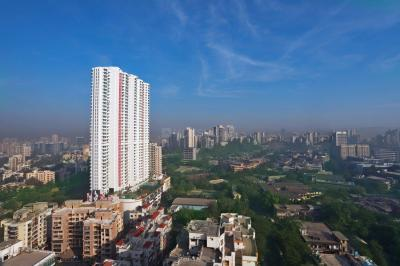 Gallery Cover Image of 1595 Sq.ft 3 BHK Apartment for buy in Romell Aether Tower B2, Goregaon East for 28600000