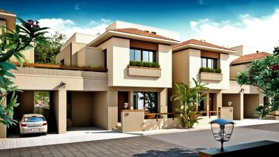 Gallery Cover Image of 2000 Sq.ft 4 BHK Villa for buy in Nilamber Aarcon, Bhayli for 9200000